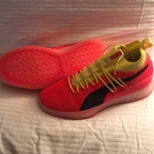 Puma Clyde Court Disrupt Basketball Shoe Red Blast